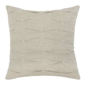 Beige Cotton Cushion Cover (H40 x W40cm)