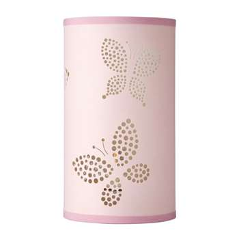 Bella Butterfly Cylinder Table Lamp (23 x 13cm)