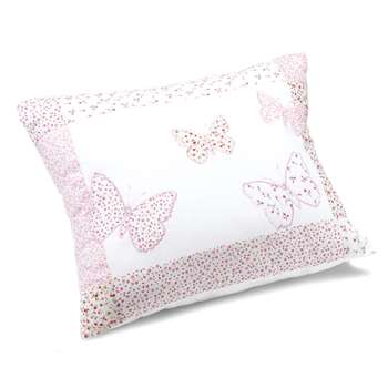 Bella Butterfly Pink Cotton Decorative Cushion