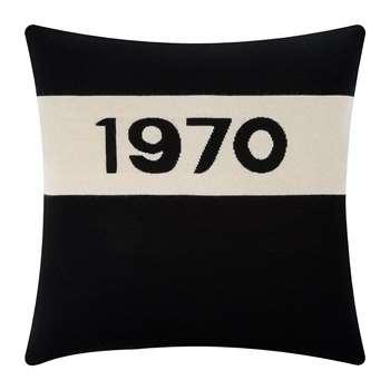 Bella Freud - 1970 Cushion - Black (H50 x W50cm)