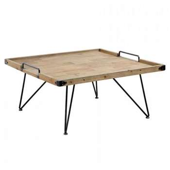 Bellange Coffee Table (H42 x W90 x D90cm)