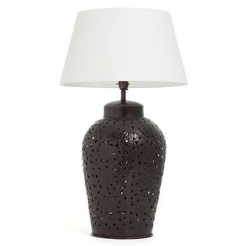 Belu Black Antique Lamp