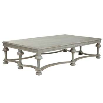 Belvès Coffee Table - Antique Blue (42 x 170cm)