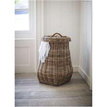 Bembridge Laundry Basket - Rattan (68 x 40cm)