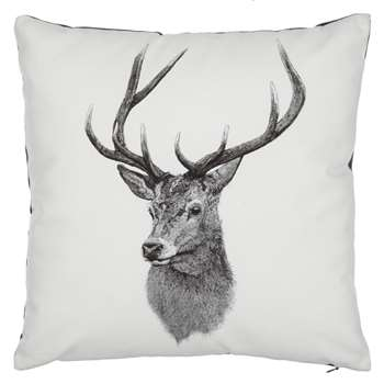 Ben Rothery Henry Stag Cushion (40 x 40cm)