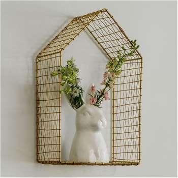 Benny Bunny Ceramic Vase (22 x 12cm)