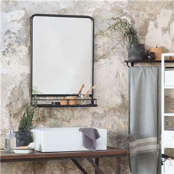 Bergan Portrait Mirror (H70 x W49 x D14cm)