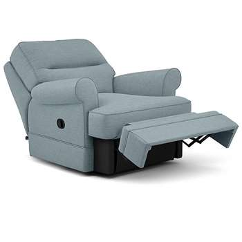 Berkeley Split Back Chair Recliner, Paxton, Duck Egg (Manual) (H96 x W98 x D102cm)