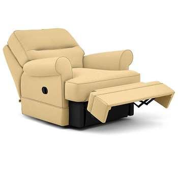 Berkeley Split Back Chair Recliner, Siona, Ochre (Manual) (H96 x W98 x D102cm)