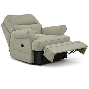 Berkeley Split Back Chair Recliner, Sorren, Sage (Manual) (H96 x W98 x D102cm)