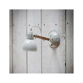 Bermondsey Wall Lamp in Vintage Oak (14 x 26cm)