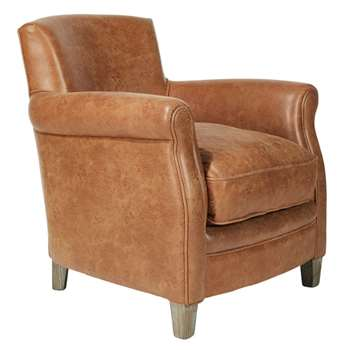 Berstone Armchair - Aged Tobacco (82 x 74cm)