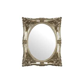 Beth Champagne Rectangular Mirror (H106 x W86cm)