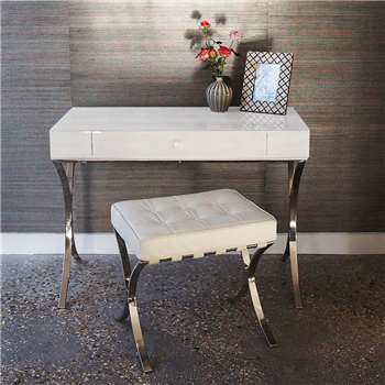 Betsy Iced Ivory Dressing Table (75 x 101cm)