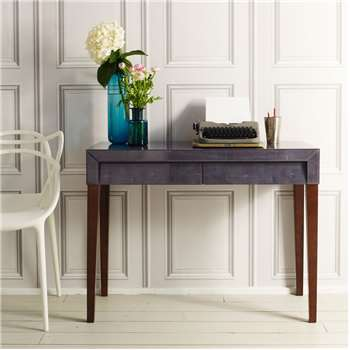 Betsy Grey Writing Desk (H76 x W101 x D46cm)