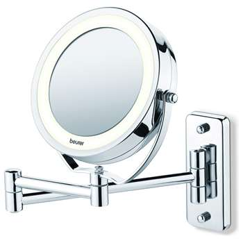 Beurer BS59 Illuminated Wall Cosmetic Mirror (H41.5 x W18 x D28cm)
