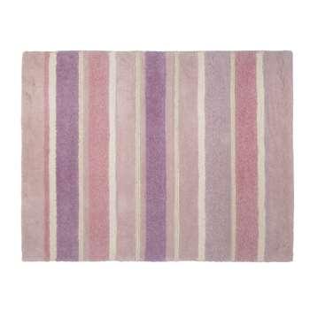 Bexley Pink Stripe Wool Rug