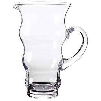 Bibelot Glass Jug, Small - Clear (25 x 20cm)