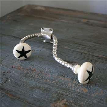 Black Star Bone Hook (14 x 11cm)