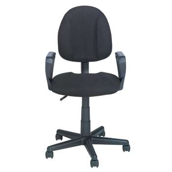 Blake Gas Lift Height Adjustable - Office Chair - Black (96.5 x 45.5cm)