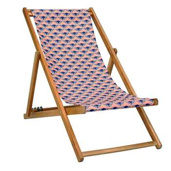 Bless Deck Chair in Coral