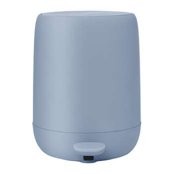 Blomus - Sono Pedal Bin - Ashley Blue (H30.5 x W23 x D38cm)