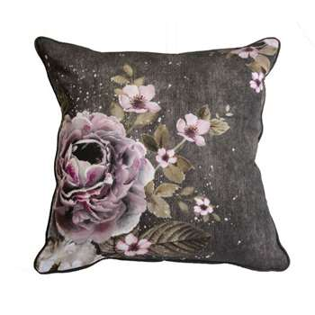 Bloom Floral Cushion (H50 x W50cm)