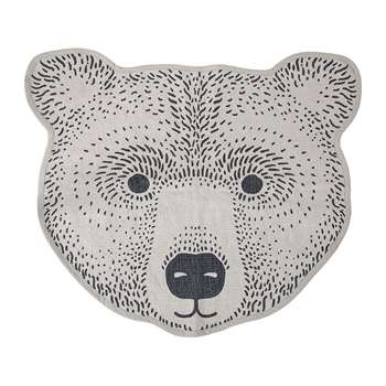 Bloomingville - Bear Rug - Brown (H75 x W85cm)