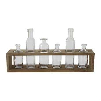 Bloomingville - Decorative Bottle Collection - Natural (H21 x W44 x D8cm)