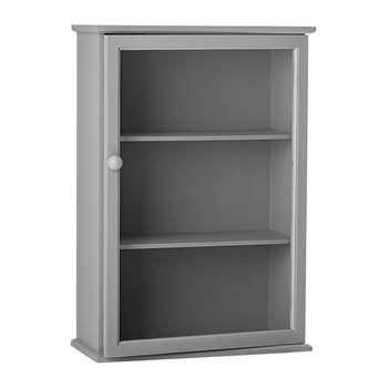 Bloomingville - Grey Pine Cabinet (H68 x W46.5 x D21cm)