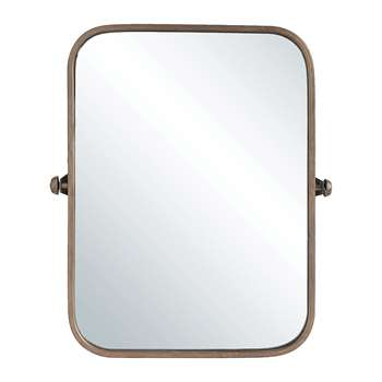 Bloomingville - Terrain Wall Mirror - Copper (H60 x W52cm)