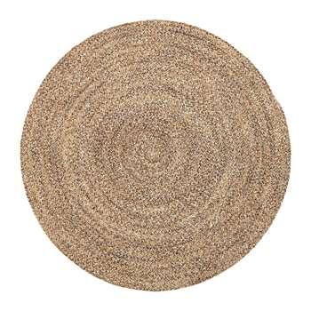 Bloomingville - Woven Round Rug - Natural (Diameter 120cm)