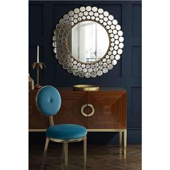 Bluebell Wall Mirror (90 x 90cm)