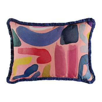 Bluebellgray - Play Rectangular Reversible Cushion (H45 x W61cm)