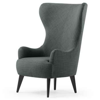 Bodil Chair, Smart Grey (114 x 82cm)