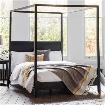 Boho Four Poster Bed - King (H200 x W161 x D211cm)