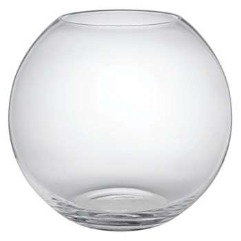 Boll Clear round glass vase (Height 20cm)