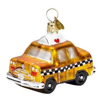 Bombki - Little New York Taxi Tree Decoration (H4 x W5 x D5cm)