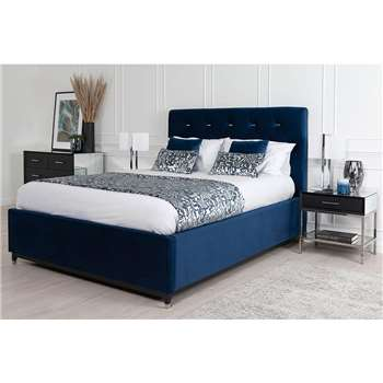 Bon Storage Bed - Royal blue (H135 x W158 x D215cm)