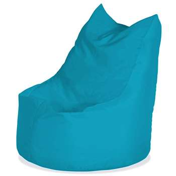 Bonkers Kicky Bean Bag Chair - Light Blue (H75 x W56 x D56cm)