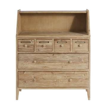 BOTANICA Recycled Pine 6-Drawer Cabinet (110 x 90cm)