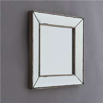 Bourbonnais Antique Glass Mirror (H45 x W45cm)