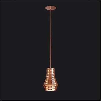 Bover - Tibeta 01 Ceiling Pendant - Copper (H18 x W12 x D12cm)
