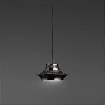 Bover - Tibeta 03 Ceiling Pendant - Black Chrome (H11 x W22 x D22cm)