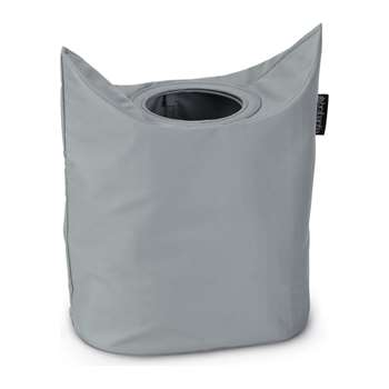 Brabantia 50 Litre Oval Laundry Bag - Grey 74 x 49cm