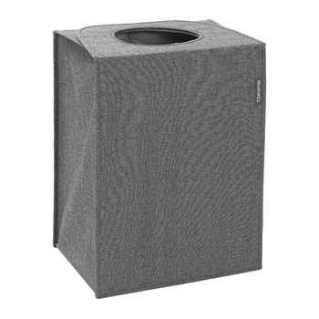 Brabantia - Rectangle Laundry Bag - 55 Litres - Pepper Black (H55 x W40 x D29.5cm)