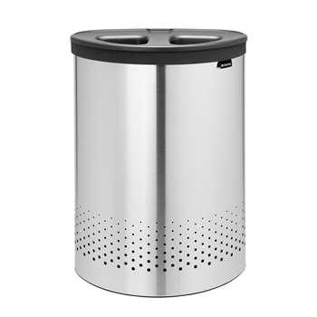 Brabantia Selector Laundry Bin, 55L - Steel
