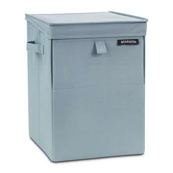 Brabantia - Stackable Laundry Box - Pastel Mint (H44.5 x W32 x D37cm)