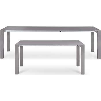 Bramante Extending Dining Table, Grey (76 x 174-264cm)