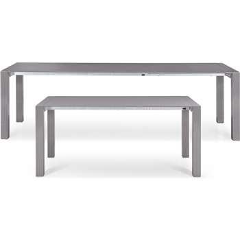 Bramante Extending Dining Table, Grey (76 x 174-264cm)